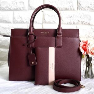 💖NWT Kate Spade Cameron Large Satchel Set